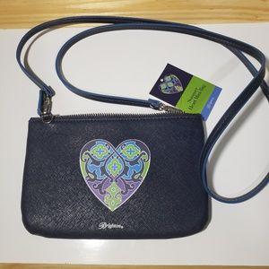 Brighton Summer Heart Mini Bag. NWT